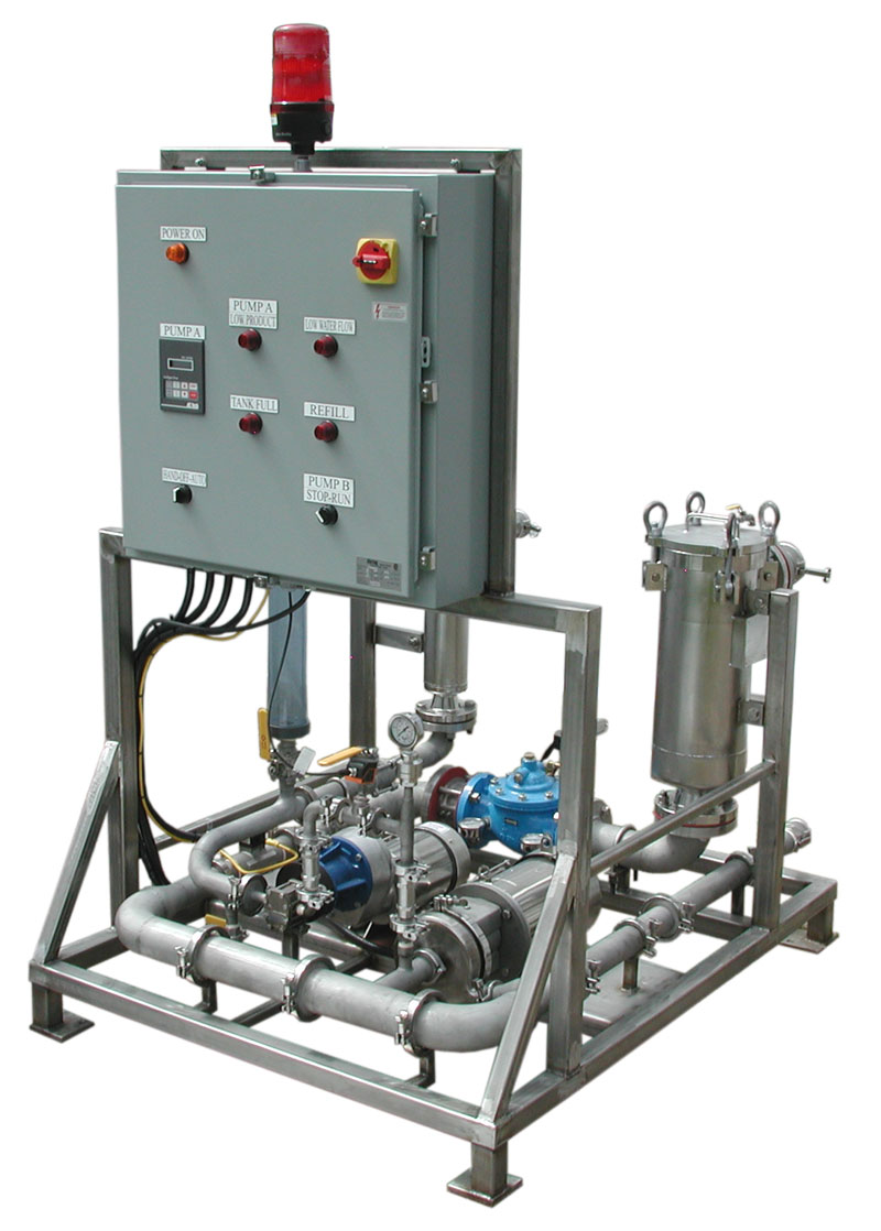 Liquid Polymer Pumps Tanks Mixers Filtration