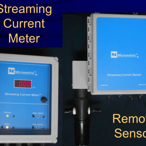 Micrometrix Streaming Current Monitor