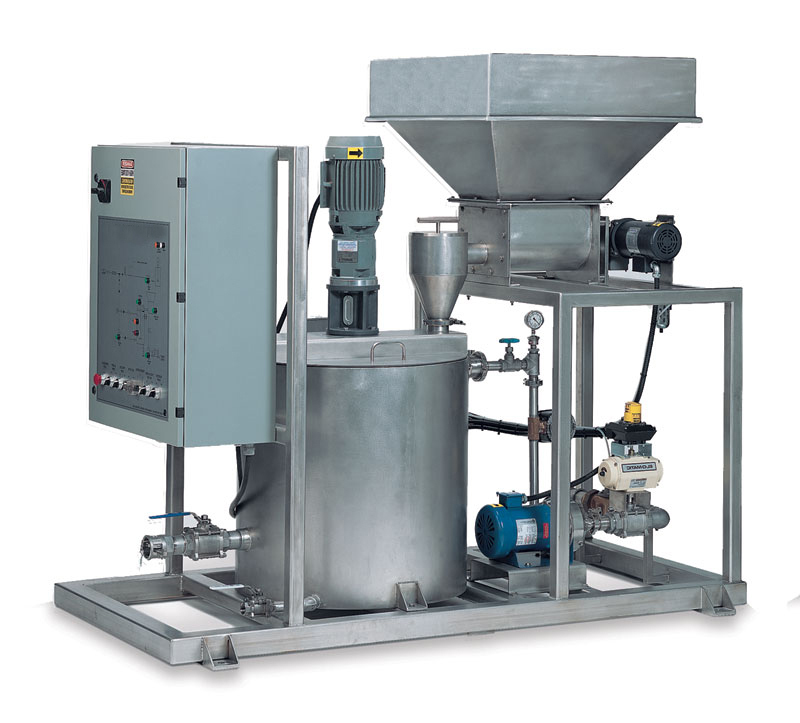 Dispersing Dissolving Amp Wetting Systems Pumps Tanks