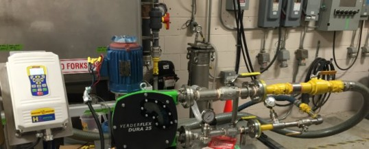 Bench Testing a VerderFLEX Hose Pump – Nothing left to chance!
