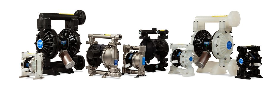 Verderair Air Operated Double Diaphragm Pumps