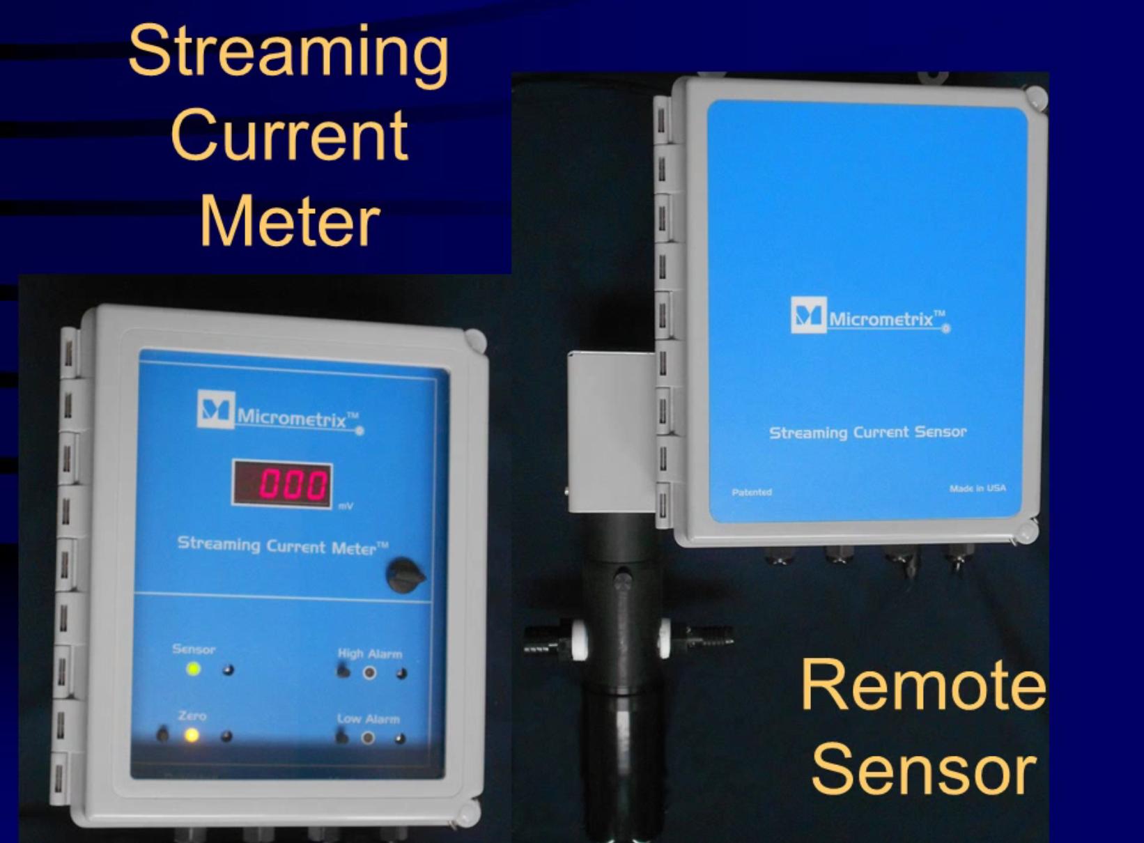 Micrometrix Streaming Current Monitor
