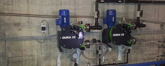 Peristaltic pump replacement improves Swiss airport's water treatment system